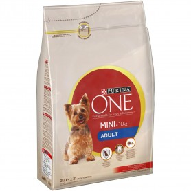 ONE MINI Perro Mini Adulto Buey y Arroz