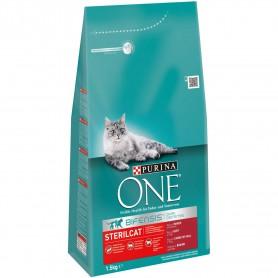 Pienso Purina One Gatos Esterilizados rico en Buey y Trigo