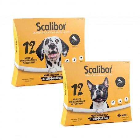 Collar Scalibor antiparasitario para perros