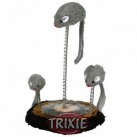 Juguete con muelle, nido de ratones