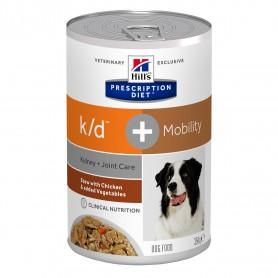 Hill´s Prescription Diet Canine k/d + Mobility Estofado con Pollo y Verduras. Comida húmeda para perros