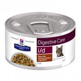 comida húmeda Hill´s Prescription Diet Feline i/d Estofado con Pollo y Verduras
