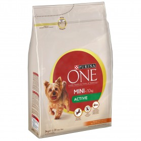 PURINA ONE Perro Active Pollo y Arroz