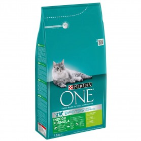 PURINA ONE Bifensis Interior rico en Pavo y Cereales