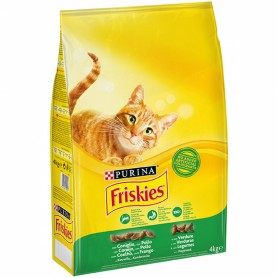 Purina Friskies Cat Adult Conejo, Pollo & Verduras