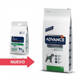 Advance Leishmaniasis Management, pienso para perros
