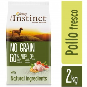 True Instinct No Grain Medium/Maxi Adult Chicken (Pollo)
