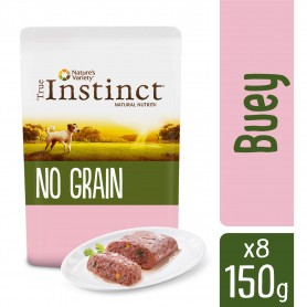 True Instinct No Grain Mini Adult Buey paté