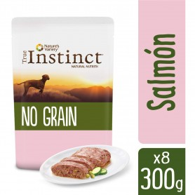 True Instinct No grain Medium Maxi Adult Salmón