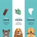 Peine de mano para mascotas