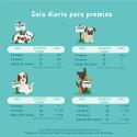Juguete mordedor para perros con cuerda y pelota