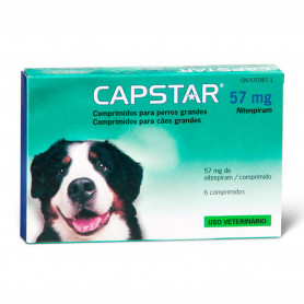 Capstar perros grandes 57 mg