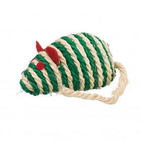 Ratón de cuerda sisal, con...