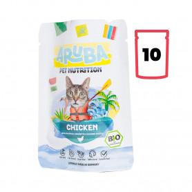 Aruba Comida Húmeda Pollo...