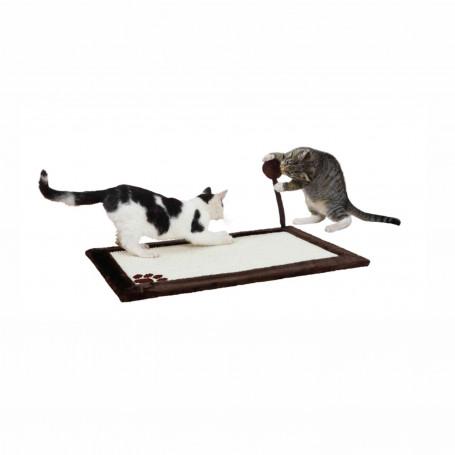 Cama para gatos con rascador