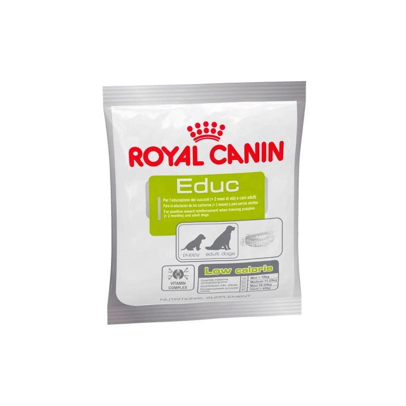 Royal Canin Educ, Snacks para perros, golosinas suaves