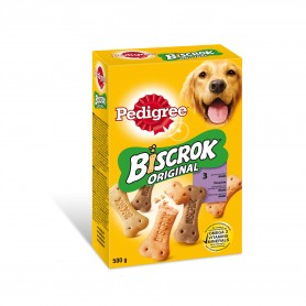 Pedigree Biscrok original, Snacks para perros, golosinas crujientes