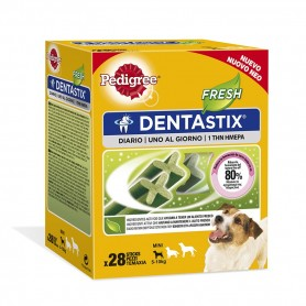 Pedigree Dentastix Frehs perros pequeños, Snacks para perros, Higiene bucal