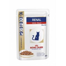 Royal Canin Veterinary Diet Renal (Buey), la mejor comida húmeda para gatos con problemas renales