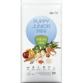 Natura Diet Puppy Junior Mini, pienso para perros naturales