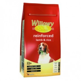 Willowy Gold Reinforce Lamb & Rice, pienso para perros adultos con problemas gastointestinales