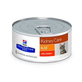 Hill's Prescription Diet Feline k/d con pollo (paté)