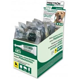 Pipetas Piretrón Spot On, antipulgas para perros