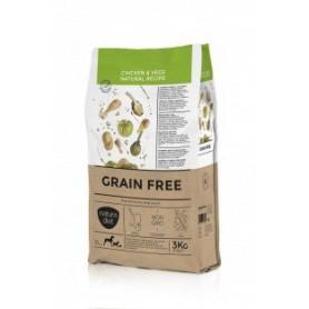 Natura Diet Grain Free Chicken & Vegs, pienso para perros naturales
