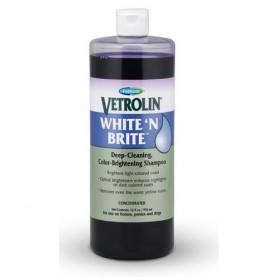 champú Vetrolin White N Brite para mascotas
