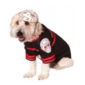 Disfraz  Jason Viernes 13 para perro, Ropa para perros, Disfraces