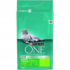 Pienso Purina One Gatos Bifensis Interior