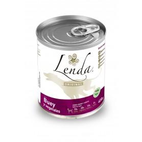 comida húmeda para perros Lenda Original Buey Lata