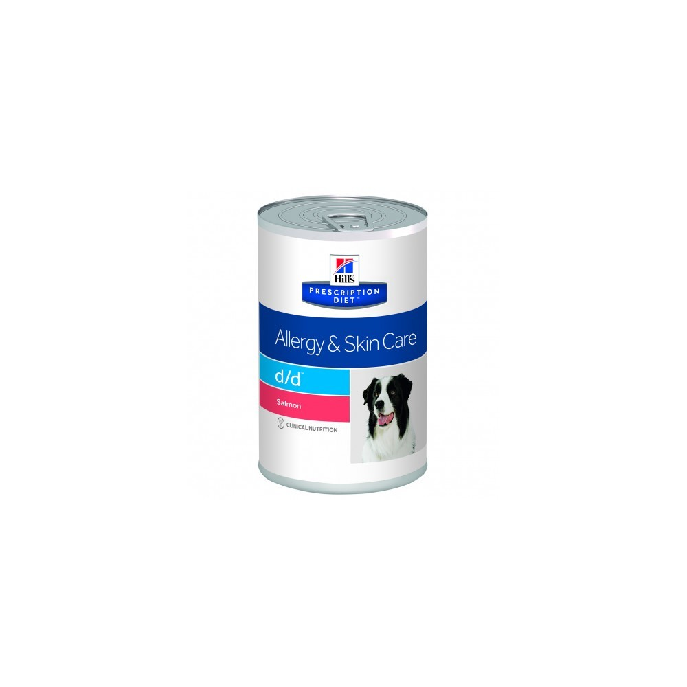 Hill's Prescription Diet Canine d/d con Salmón (Lata)
