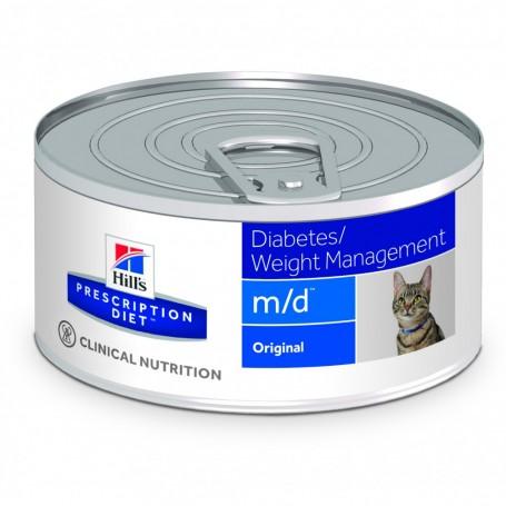 Comida Húmeda Hill's Prescription Diet Feline m/d (lata)