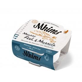 MHIMS cat Mousse pescado blanco con mejillones