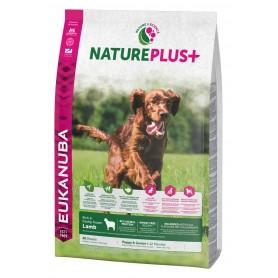 Eukanuba Nature Plus+ Puppy Cordero, pienso para perros naturales