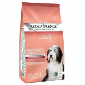 Arden Grange Adult Salmon & Rice, pienso para perros naturales