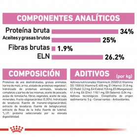 Ingredientes pienso Royal Canin Feline Health Nutrition Babycat 34