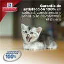 Hill's ofrece un pienso para gato con 100% satisfacción garantizada