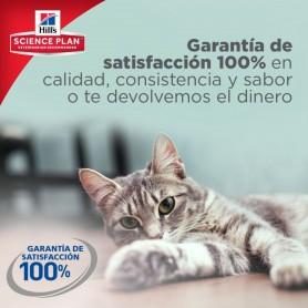 comida húmeda para gatos Hill's Science 100% garantizada