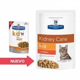 Hill's Prescription Diet Feline k/d pollo (bolsita)