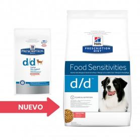 pienso veterinario Hill's Prescription Diet Canine d/d salmón y arroz