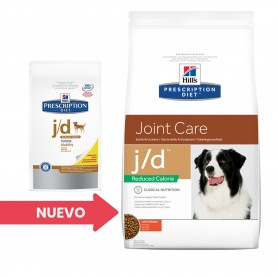 Pienso veterinario Hill's Prescription Diet Canine j/d Reduced Calorie