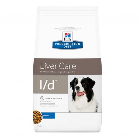 Pienso veterinario Hill's Prescription Diet Canine l/d