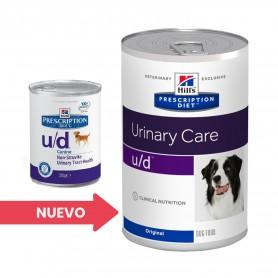 Hill's Prescription Diet Canine u/d (Lata), comida húmeda veterinaria