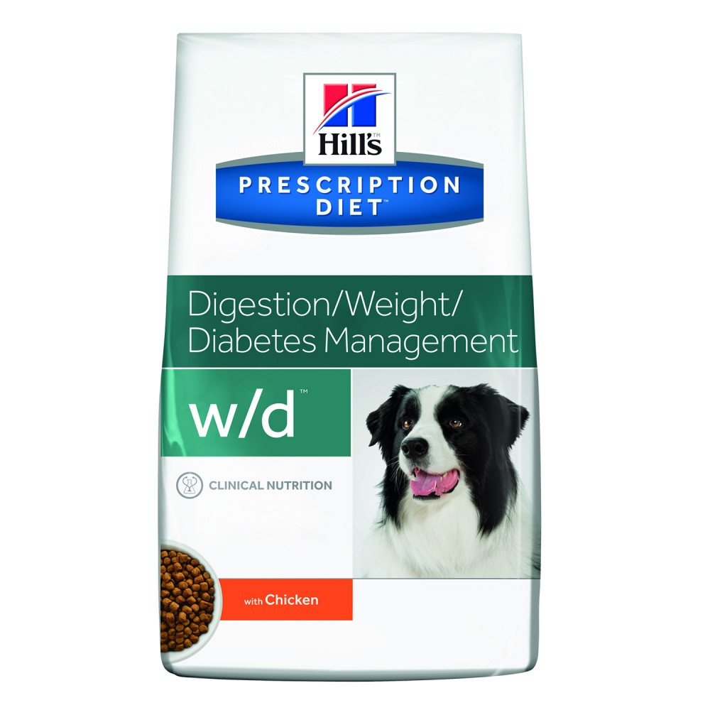Hill's Prescription Diet Canine w/d, Pienso veterinario para perros