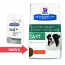 Pienso Hill's Prescription Diet Canine w/d