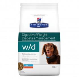 Pienso Hill's Prescription Diet Canine w/d mini