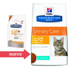 Hill's Prescription Diet Feline c/d Pescado