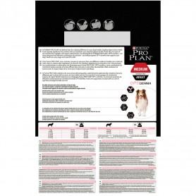 Información general de pienso Purina Pro Plan Medium Adult Sensitive Skin